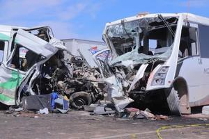 Choque en carretera de Sonoradeja 16 muertos y 9 lesionados