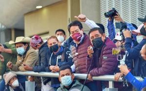 Protesta de Félix Salgado Macedonio llega al TEPJF