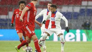 2-3 Vence el PSG al Bayern todo abierto para la vuelta