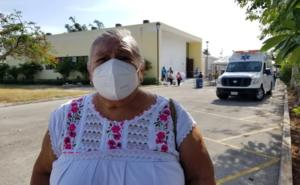 'Acabará la pesadilla', dice doña Wilma, vacunada en Mérida