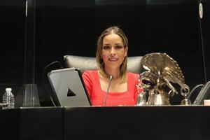 Designan a Verónica Martínez como vicepresidenta de la Mesa Directiva del Senado