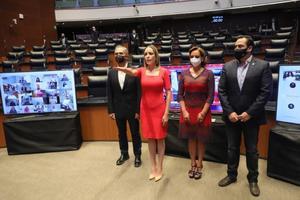 Asume Verónica Martínez la vicepresidencia del Senado