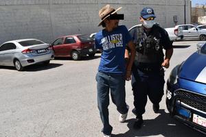 Aseguran a presunto ladrón en Monclova