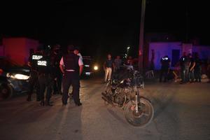 Chocan motociclistasen Monclova