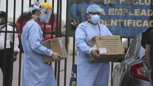 En prisión 2 imputados por compra irregular de hospitales móviles en Honduras