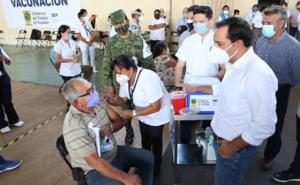 Arribarán a Yucatán vacunas anti Covid para segunda dosis