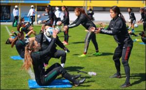 Gira por Europa eleva exigencia de la Selección Femenil: Vergara
