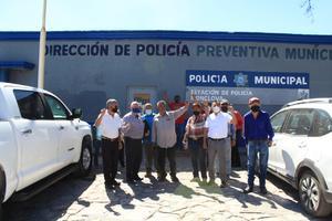 Protestan contra uso de grúas en SP en Monclova