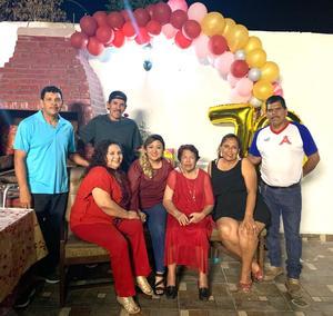 Doña Sara celebra 78 años de vida en Monclova