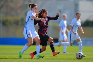 Empata Selección Mexicana Femenil contra Eslovaquia en su gira por Europa