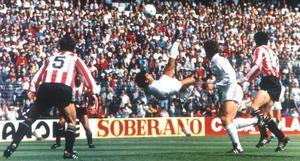 VIDEO: Así fue el 'Señor Gol' de Hugo Sánchez hace 33 años