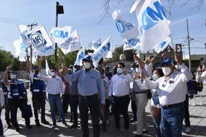 Seguirán buscando beneficios candidatos del PAN Monclova
