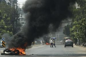 Junta birmana mató a 82 personas en la represión en Bago, según oenegé