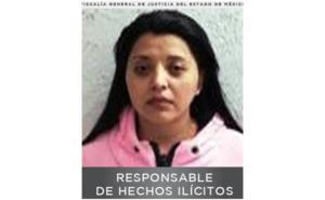 Mujer recibe 60 años de cárcel por secuestro de comerciante en Edomex
