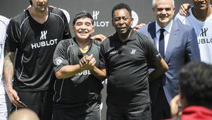 Pelé: 'Siempre bromeaba con Maradona sobre quién era mejor'