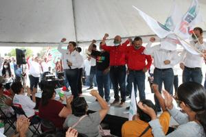 'Truena' líder estatal del PRI con la planilla de Guadalupe Murguía en Monclova