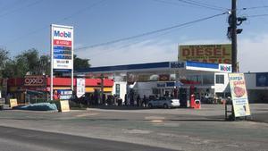 Bajan las  ventas de gasolina en  un 30% en Frontera
