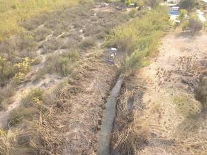 Perforan pozo de agua con recursos del ejido Las Flores