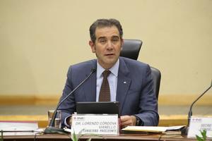 Lorenzo Córdova: 'Autoridad electoral no se va a dejar amedrentar'