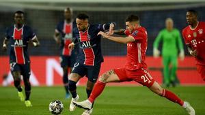 0-1 Gana el Bayern al medio tiempo