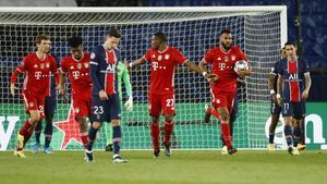 Bayern gana 0-1 pero no le alcanza y Paris avanza a semis