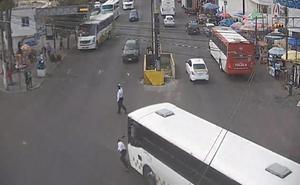 Atropellan a policía mientras realizaba labores de vialidad en Toluca