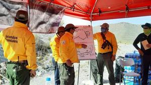 Controlan al 100% incendio en Monterreal en la Sierra de Arteaga