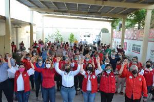 Cierra filas Onmpri en torno a la candidata Bella Alemán: PRI