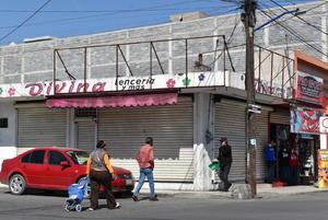 Comercio de la zona centro no podrá reactivarse al 100% en Monclova