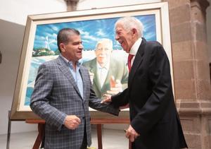 Reconocen 90 años  de logros políticos de Eliseo Mendoza