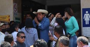 Salgado Macedonio regresa a Acapulco con manos vacías