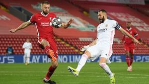 0-0 En Anfield y el Madrid avanza a semis