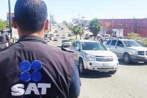 Advierte la Administración Fiscal de Monclova operativos contra autos nacionales