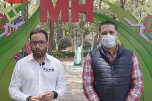 Hugo Romo anuncia que suma a su campaña al panista Torres Soumaya