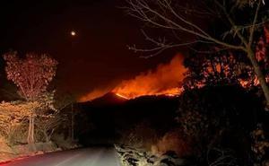 Sedena aplica Plan DN-III por incendios forestales en Los Reyes