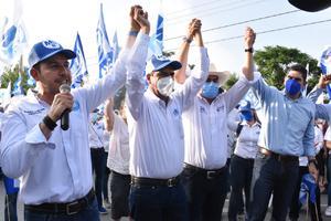 Respalda dirigente nacional del PAN a candidatos de la región
