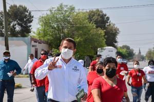 Promete Hugo Lozanocrear más áreas verdes