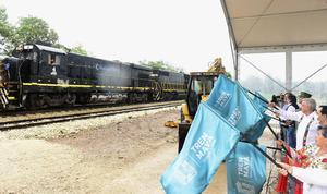 AMLO: Viaja a Tabasco para supervisar la construcción del Tren Maya