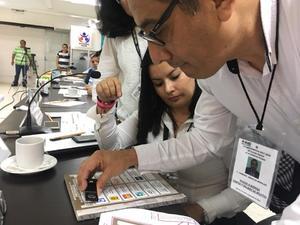 INE en Chiapas recibe documentación y papelería electoral