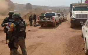 Hombres armados atacan unidad de vacunación antiCOVID en Michoacán