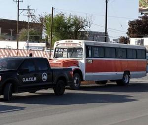 Intenta asaltar camión de pasajeros en Monclova