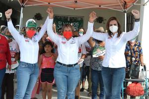 Mujeres unidas nada las detendrá: 'Bella' Alemán