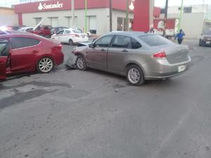 Fuerte accidente en Frontera