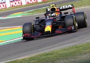 'Checo' Pérez supera a Verstappen y partirá en segundo puesto