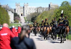 Así fue el cortejo fúnebre del Príncipe Felipe desde Windsor