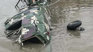 Caída de helicóptero deja al menos cinco militares muertos en el sur de Perú