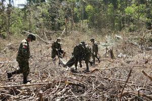 Mueren 10 disidentes de FARC en combate que también deja un militar asesinado