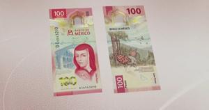 Reconocen al nuevo billete de 100 pesos como el mejor del 2020