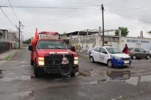 Cañada Sur se queda sin luz por incendio en Monclova
