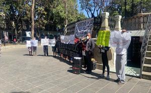 Exigen retirar cargos contra presos políticos de Eloxochitlán